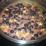 quinoa blueberry porridge